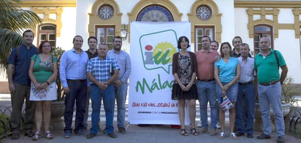 IU defiende cambiar el modelo productivo en Málaga y acabar con los recortes en la inversión