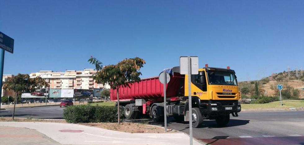 Trasiego de camiones