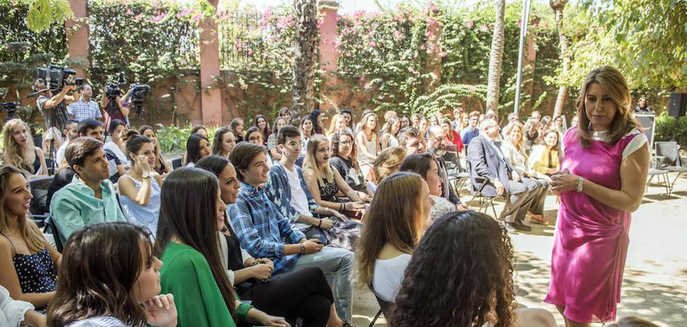 Susana Díaz manifiesta que la negociación con C's sobre presupuestos esta muy avanzada