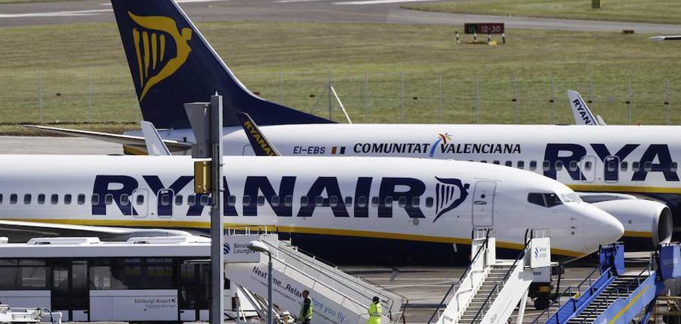 Las acciones de Ryanair caen un 3% tras anunciar cancelaciones