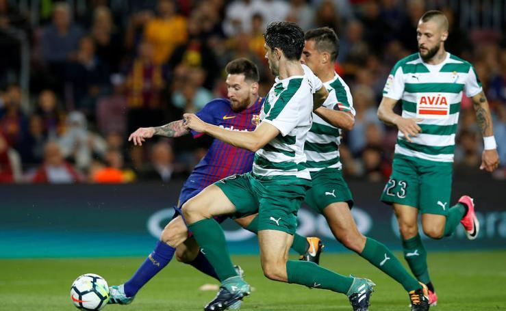 Las mejores imágenes del Barcelona-Eibar