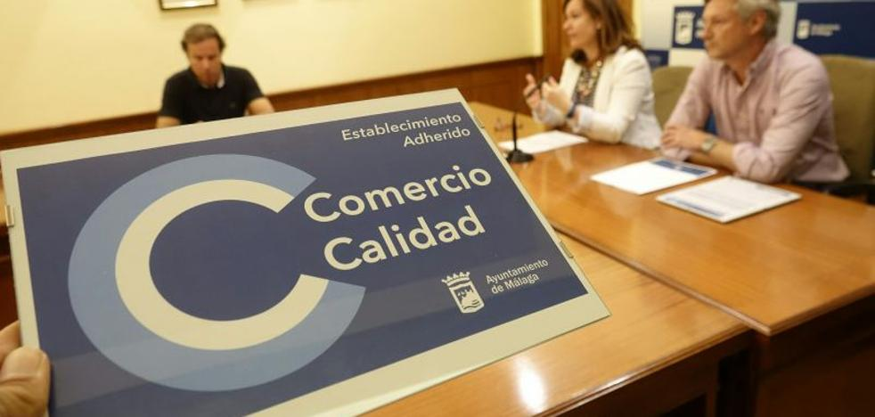 Un sello identificará a los comercios de Málaga adheridos al código de buenas prácticas