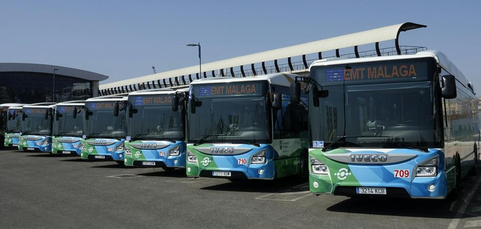 Málaga, primera ciudad con dos líneas de auobuses urbanos completamente híbridos