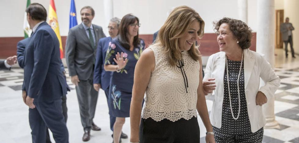 Susana Díaz viajará a Portugal la próxima semana