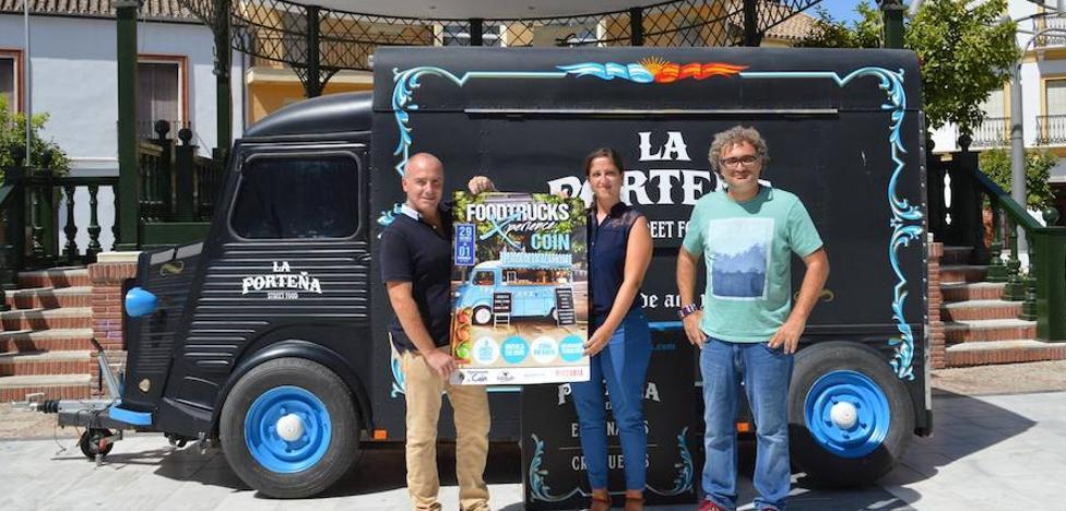 'Foodtrucks Xperience' aterriza en Coín