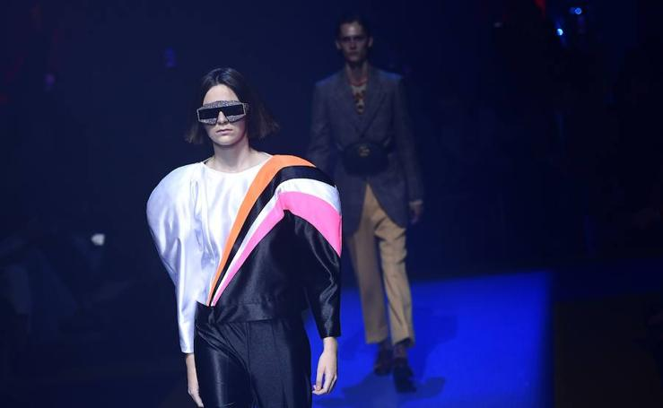 Desfile de Gucci en la Fashion Week de Milán