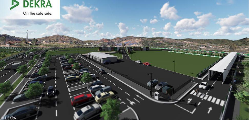 Dekra construye un circuito de pruebas para coches autónomos en el PTA