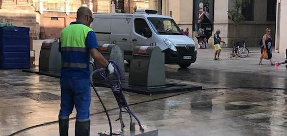 Limasa inicia un plan específico de limpieza de alta presión