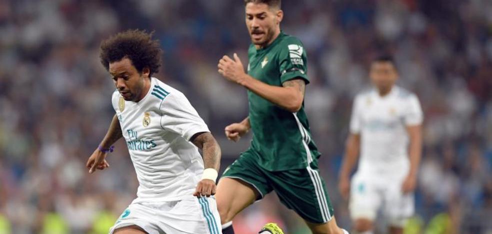 El Real Madrid se queda sin lateral zurdo