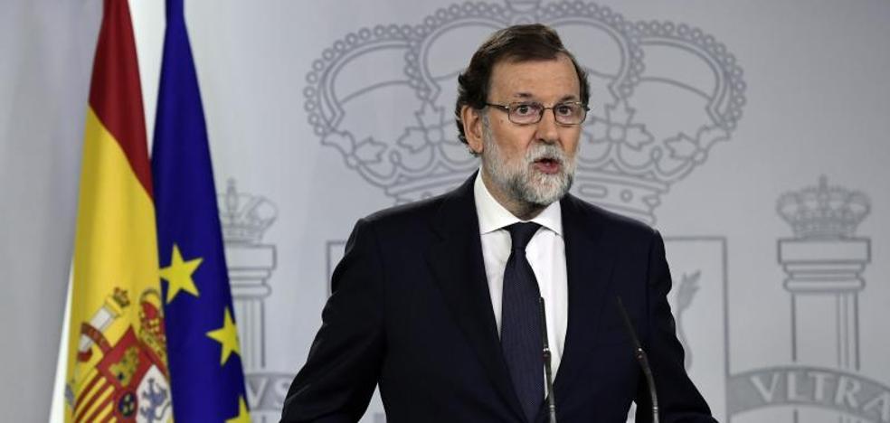 Rajoy, al Govern: «Están a tiempo de evitar males mayores»