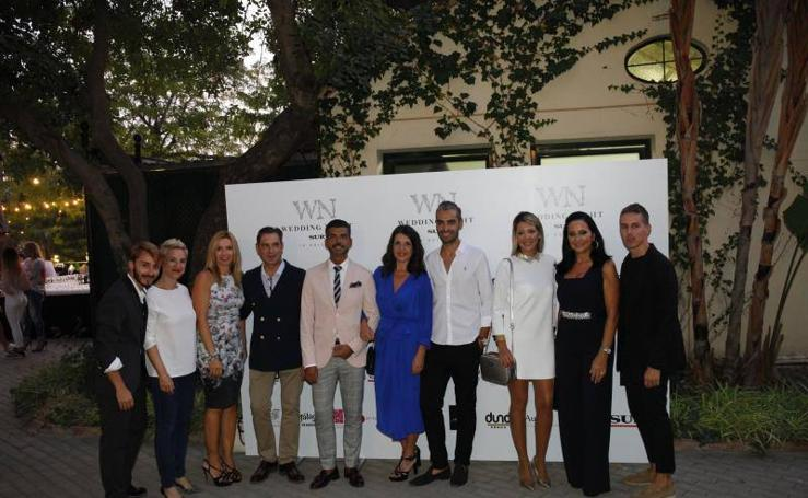 Fotos del photocall y expositores de la IV Wedding Night SUR