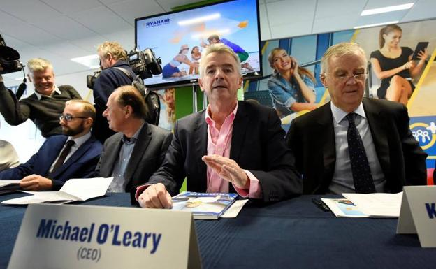 El director general de Ryanair, Michael O'Leary.