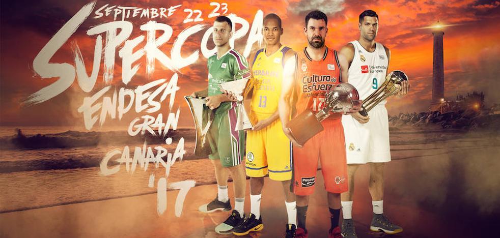 Cuatro 'ganadores', a por la Supercopa Endesa