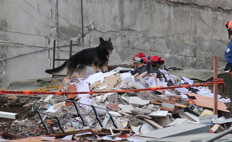 El desastre del Álvaro Obregón, el edificio donde está atrapado un malagueño tras el terremoto de México