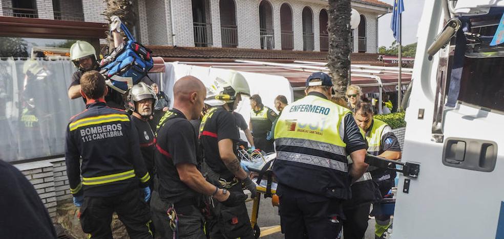 Los afectados por el escape de gas en Cantabria vuelven mañana a Málaga