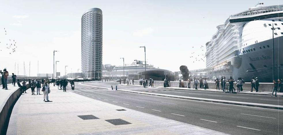 La CEM apoya la torre del Puerto y pide a la Junta la tramitación simplificada
