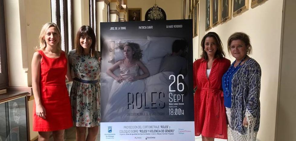 El Museo Carmen Thyssen acoge la proyección del cortometraje 'Roles'