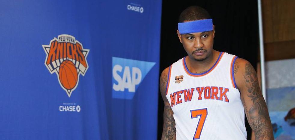 Los Thunder fichan a Carmelo y consiguen un 'big three temporal'
