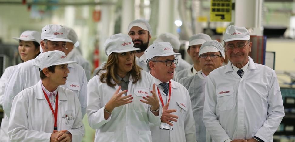 Cuatro décadas de 'espíritu Fujitsu' en Málaga