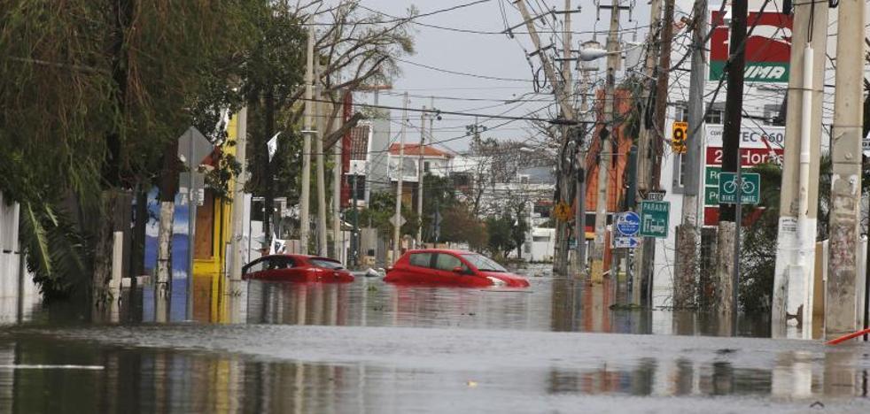 Al menos 35 muertos tras el paso de 'María' por el Caribe