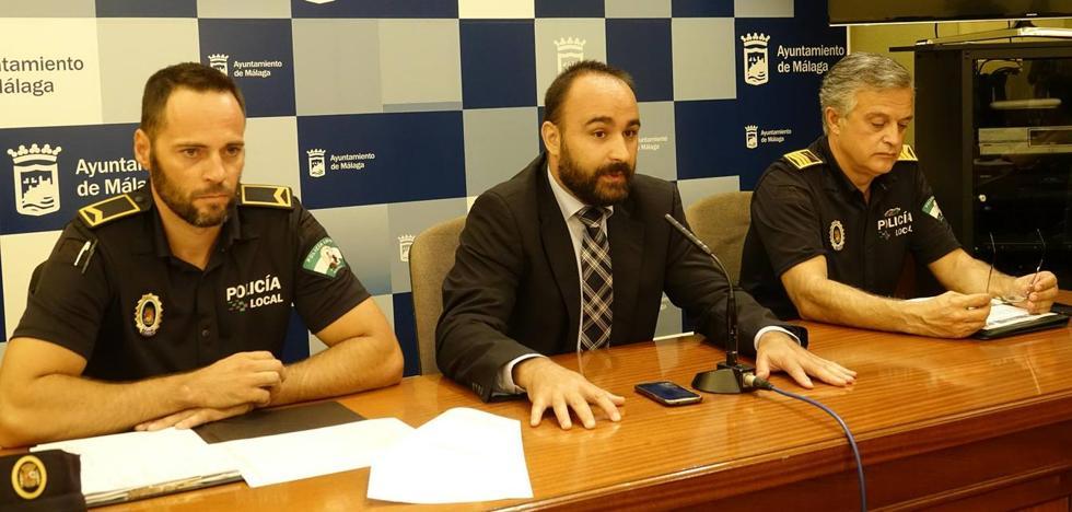 Málaga estudia colocar de manera permanente estructuras fijas para proteger zonas concurridas