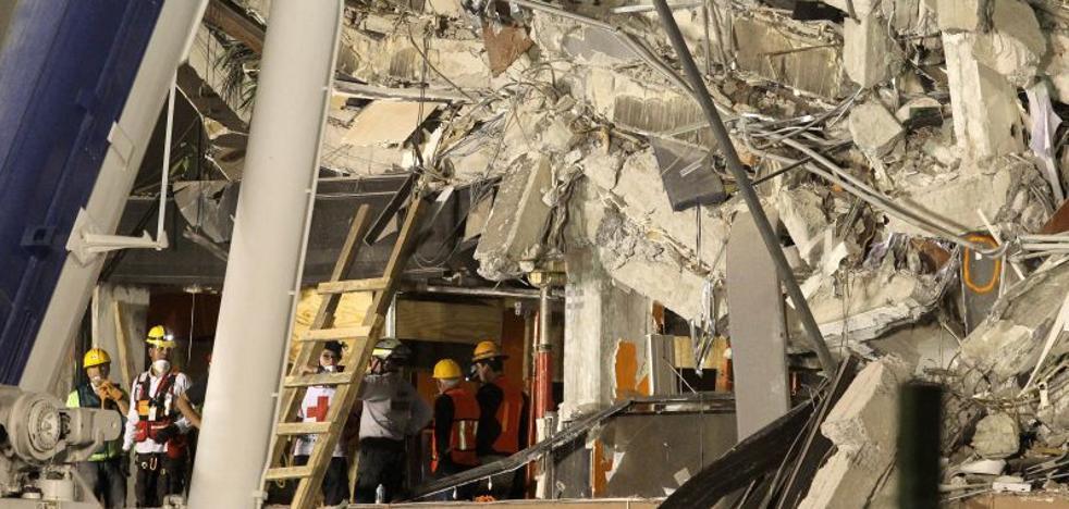 En busca de Jorge Gómez seis días tras el terremoto