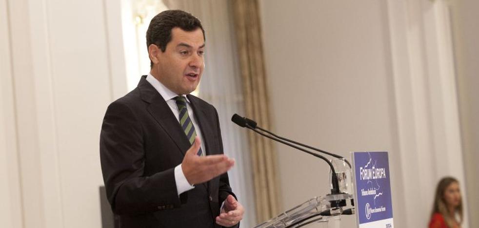 Juanma Moreno se apoya en Málaga para dar el salto a la Junta
