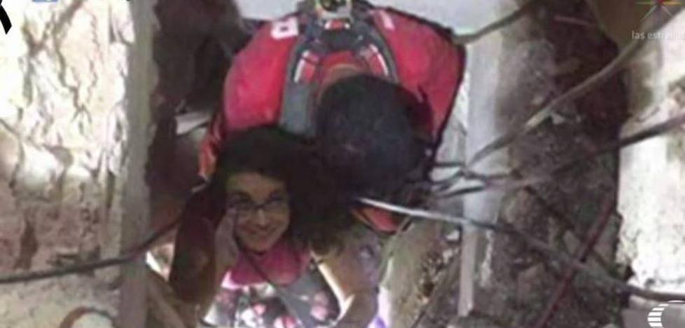 Las 36 horas de Lucía bajo los escombros del edificio donde está atrapado el malagueño