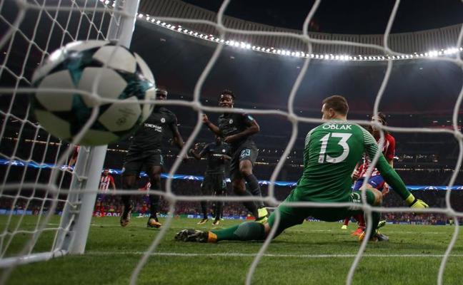 El Chelsea tumba al Atlético con un 'gol de oro'