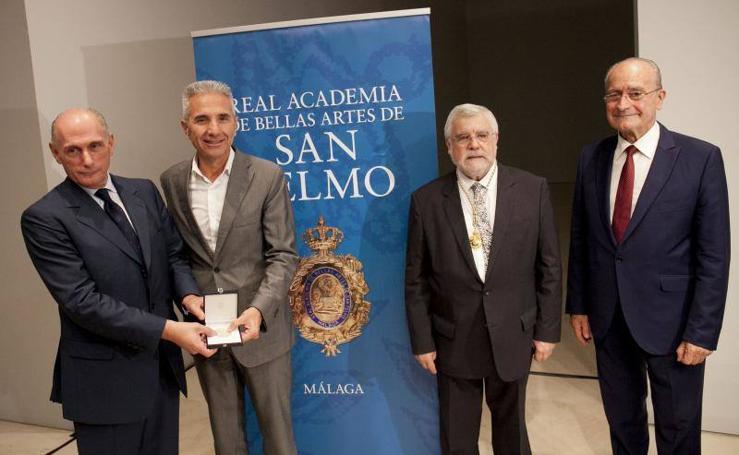 Fotos de la entrega de la Medalla de Honor al Museo Picasso Málaga