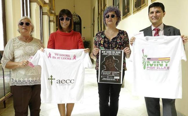 Una campaña recauda dinero para dar ayuda psicológica a mujeres con un cáncer de mama en Málaga