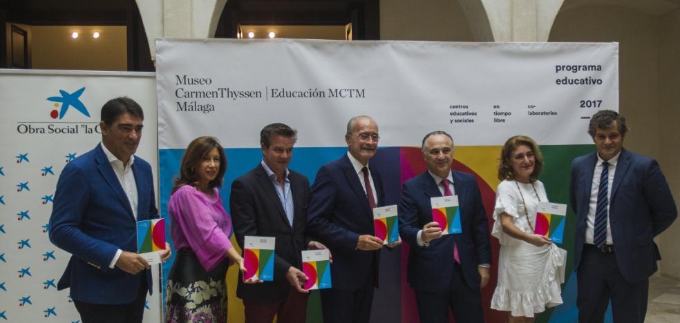 El Thyssen de Málaga inicia el curso con la renovación de su oferta educativa