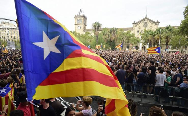 La huelga general en Cataluña, en imágenes