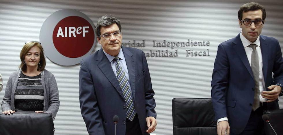 La AIReF cree que España podría rebajar el déficit al «3% o inferior»