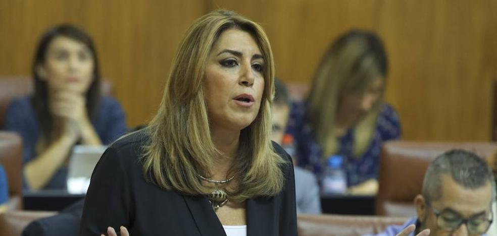 Susana Díaz anuncia que el Consejo de Gobierno aprobará el próximo martes los Presupuestos para 2018