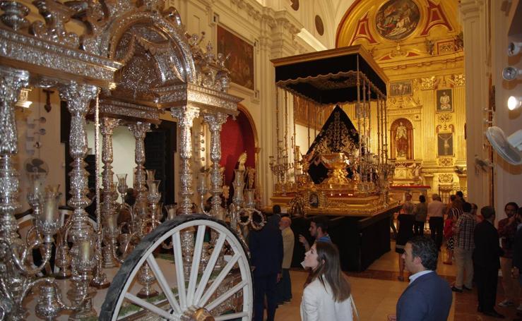 Exposición antológica de la obra cofrade de Jesús Castellanos
