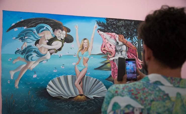 El arte más 'trash' en la exposición 'Bad Taste' en La Térmica