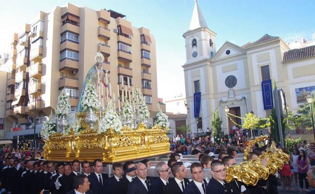 El fin de semana cofrade de Málaga, marcado por las procesiones de seis Vírgenes