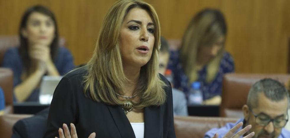 Susana Díaz asegura que ningún empleado de la Junta de Andalucía cobrará menos de mil euros