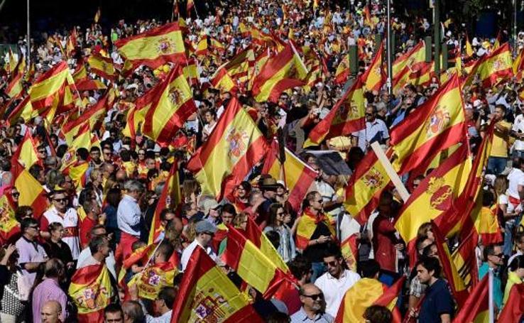 Jornada de movilizaciones por el diálogo y la unidad de España