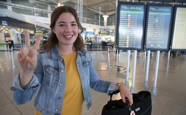 Esta joven de Mijas representa a España en la Olimpiada Iberoamericana de Química
