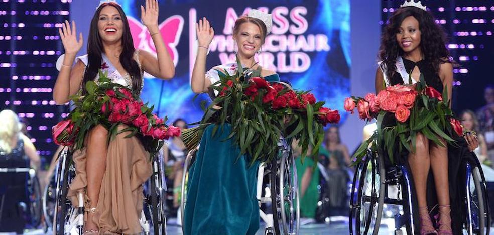 «Todas ganadoras» en el concurso de Miss Mundo en silla de ruedas