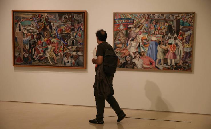 La nueva exposición temporal del Museo Picasso de Málaga, en imágenes