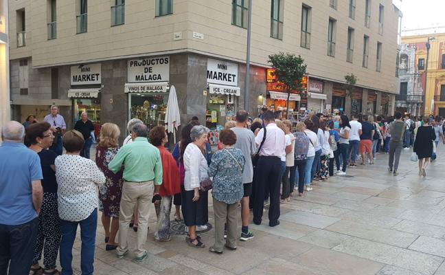 Málaga se reencuentra con el Cautivo