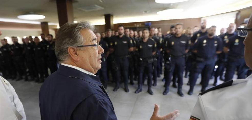 La Policía Nacional participará en el desfile del 12-O por primera vez en 30 años