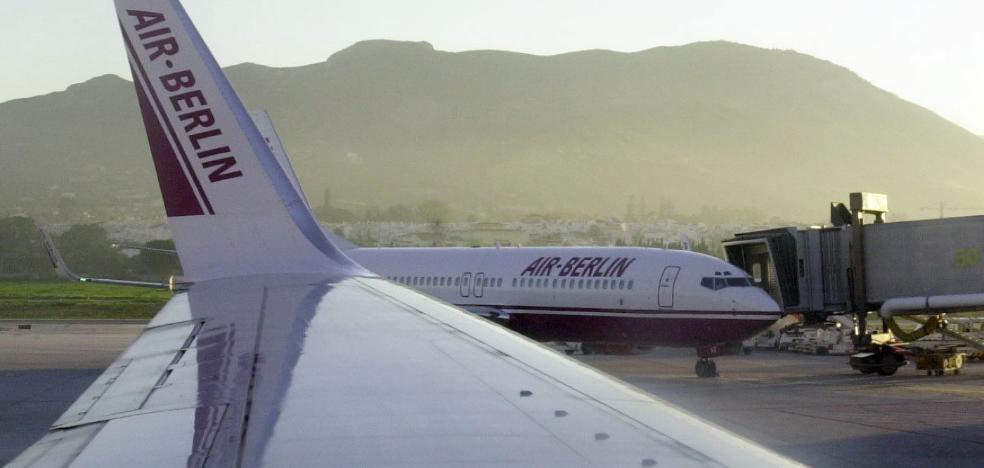Air Berlin, declarada insolvente, cesará sus operaciones el próximo día 28