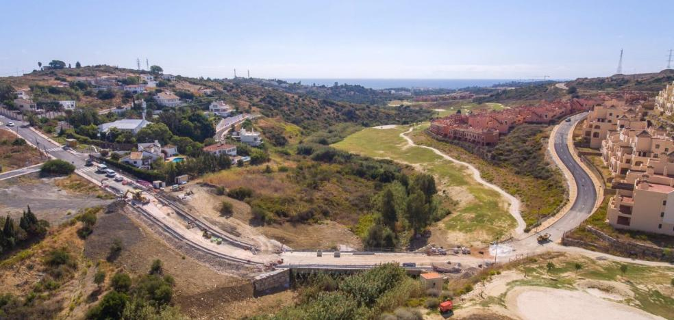 En Estepona conectarán con un puente Valle Romano y Santa María Golf