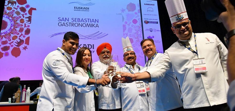 El oloroso acento indio de Gastronomika