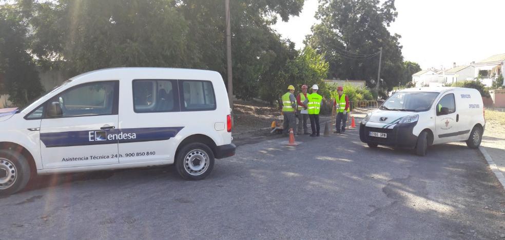 Endesa comienza las obras del Chare en Alhaurín a falta de la licencia de Cártama