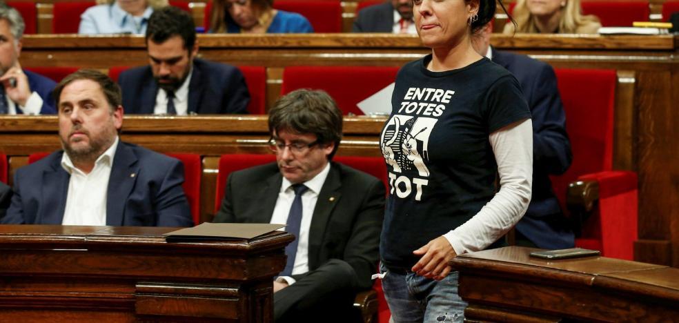 La CUP amenaza con romper con Junts pel Sí y con Puigdemont